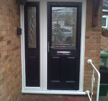 latest compsite-door-in-essex-navy-blue